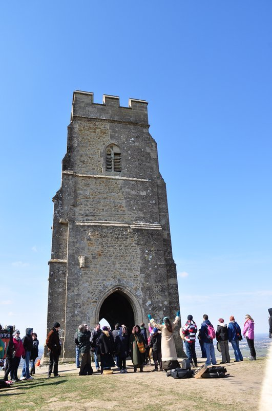 St Michael's tower on Glastonbury Tor