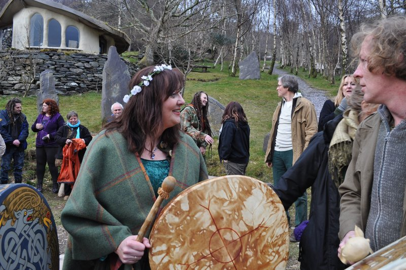 Gillian at Cae Mabon with TWD