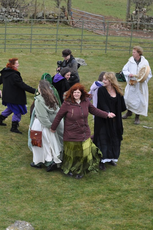 Serpentine Conga at Bryn Celli Ddu