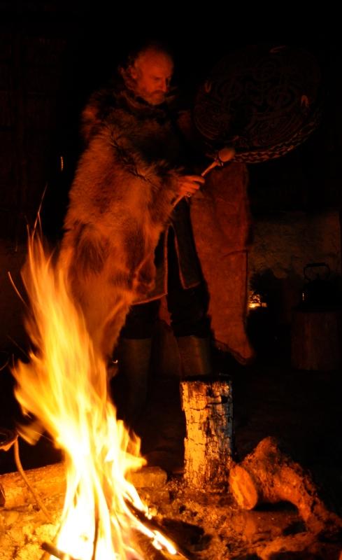 Greywolf drumming