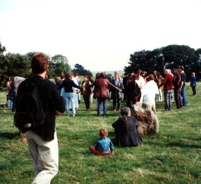 Bardic Initiations at the 1st Gorsedd