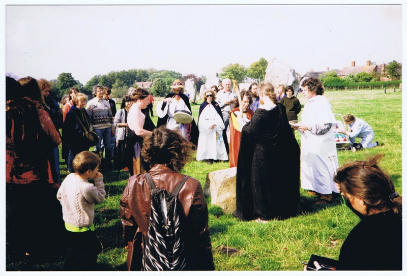 Handfasting at the Ring Stone