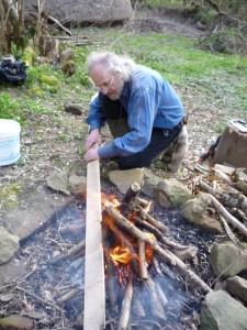 Toasting a hoop