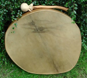 Undecorated Drum