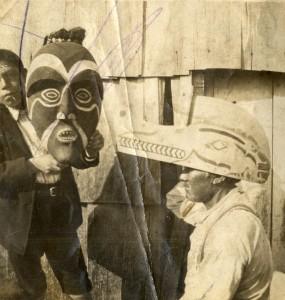 Quileute_Masks c 1905